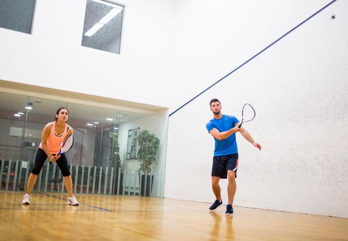 Racquetball pickleball aspen hill club for Average cost racquetball court
