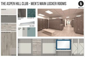 aspen hill club men's main locker rooms