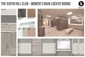 aspen hill club women's main locker room