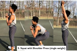 Squat with Shoulder Press